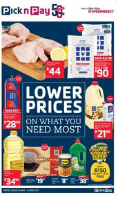 Pick n Pay : Additional Savings (23 May - 04 Jun 2017), page 1