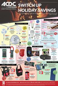 ACDC Express : Switch Up This Holiday Savings (15 Oct - 31 Jan 2019 While Stock Last) , page 1