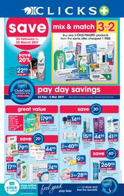 Clicks : Pay Day Savings (23 Feb - 22 Mar 2017), page 1