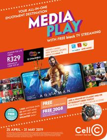 Cell C : Media Play (25 Apr - 31 May 2019), page 1