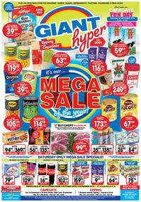 Giant Hyper : Mega Sale (03 Oct - 04 Nov 2018), page 1