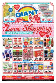 Giant Hyper : Love Shopping (06 Feb - 04 Mar 2018), page 1