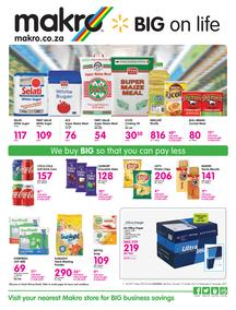 Makro Gauteng : Food Deals (19 Oct - 01 Nov 2017), page 1