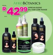 African Blend Oil Hair Care Range-Each