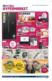 Pick n Pay Hyper : Specials (24 Apr - 07 May 2017), page 1