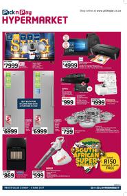 Pick n Pay Hyper : Specials (23 May - 04 Jun 2017), page 1