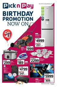 Pick n Pay Hyper : Birthday Promotions (20 Jun - 02 Jul 2017), page 1