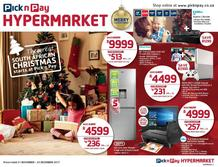 Pick n Pay Hyper : Christmas Savings (21 Nov - 25 Dec 2017), page 1