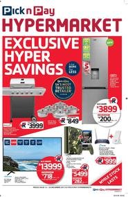 Pick n Pay Hyper : Savings (12 Dec - 26 Dec 2017), page 1