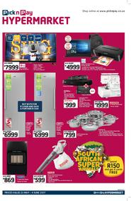 Pick n Pay Hyper Western Cape : Specials (23 May - 04 Jun 2017), page 1