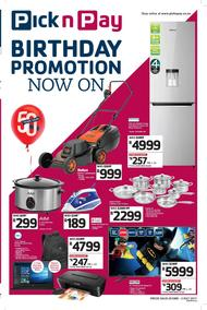 Pick n Pay Hyper Western Cape : Birthday Promotions (20 Jun - 02 Jul 2017), page 1
