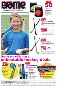 Game : Unbeatable Hockey Deals (27 July - 11 Aug 2017), page 1