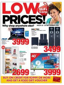 HiFi Corp : Low Prices (22 Sep - 25 Sep 2016), page 1