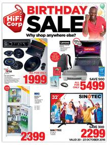HiFi Corp : Birthday Sale (20 Oct - 23 Oct 2016), page 1