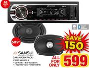 "Sansui 6x9"" Car Audio Pack Street Warrior 3"