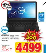 Dell Notebook Inspiron 15 3552