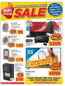 HiFi Corp : Mid Year Clearance Sale (22 June - 25 June 2017), page 1
