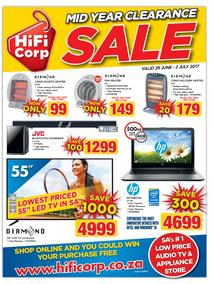 HiFi Corp : Mid Year Clearance Sale (29 June - 2 July 2017), page 1