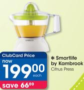 Smartlife By Kambrook Citrus Press