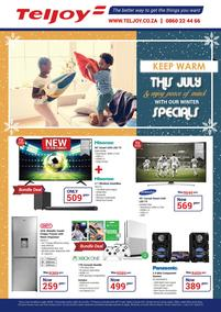 Teljoy : Winter Specials (1 July - 31 July 2018), page 1