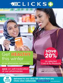 Clicks : Get Health This Winter (7 June - 8 July 2018), page 1