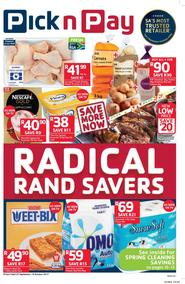 Pick n Pay Eastern Cape : Radical Rand Savers (25 Sep - 08 Oct 2017), page 1