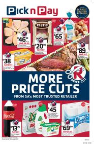 Pick n Pay Eastern Cape : More Price Cuts (20 Nov - 26 Nov 2017), page 1