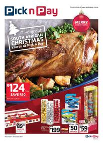 Pick n Pay Eastern Cape : The Great South African Christmas Starts (07 Nov - 26 Nov 2017), page 1
