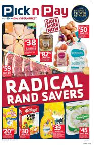 Pick n Pay : Radical Rand Savers (10 Oct - 22 Oct 2017), page 1