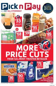 Pick n Pay : More Price Cuts (24 Oct - 05 Nov 2017), page 1