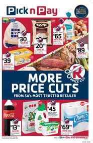 Pick n Pay : More Price Cuts (20 Nov - 26 Nov 2017), page 1