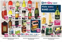 Pick n Pay : Liquor (24 Feb - 5 Mar 2017), page 1