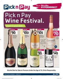 Pick n Pay : Wine Festival (20 Feb - 5 Mar 2017), page 1