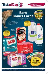 Pick n Pay : Bonus Deals (24 Apr - 07 May 2017), page 1