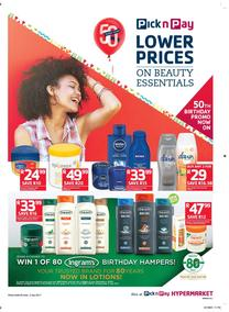 Pick n Pay : Lower Prices On Beauty Essentials (20 Jun - 02 Jul 2017), page 1