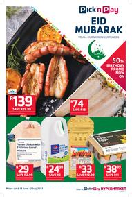 Pick n Pay : Eid Mubarak (13 Jun - 02 Jul 2017), page 1