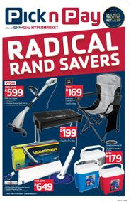 Pick n Pay : More Radical Rand Savers (24 Oct - 05 Nov 2017), page 1