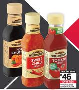 Wellington's Sauce Assorted-3 x 375-470g