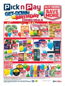 Pick n Pay : Birthday Combo Deals (09 Jul - 22 Jul 2018), page 1
