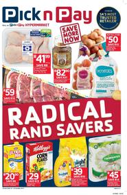 Pick n Pay Western Cape : Radical Rand Savers (10 Oct - 22 Oct 2017), page 1