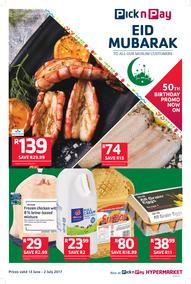 Pick n Pay KZN : Eid Mubarak (13 Jun - 02 Jul 2017), page 1