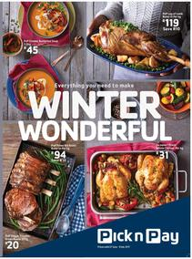 Pick n Pay KZN : Winter Wonderful Deals (27 Jun - 09 Jul 2017), page 1