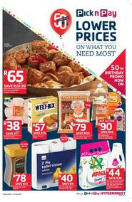 Pick n Pay KZN : Lower Prices On What You Need Most (11 Jul - 23 Jul 2017), page 1