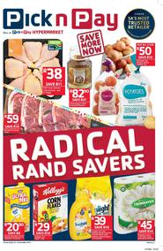 Pick n Pay KZN : Radical Rand Savers (10 Oct - 22 Oct 2017), page 1