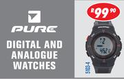Pure Digital And Analogue Watch 5103-4