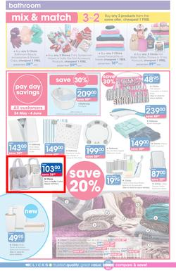 Clicks : Pay Day Savings (24 May - 21 June 2017), page 26