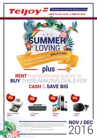 Teljoy : Summer Loving (1 Dec - 31 Dec 2016), page 1