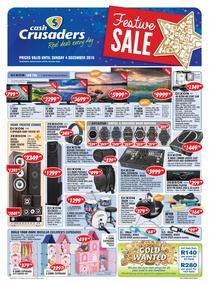 Cash Crusaders : Festive Sale (12 Nov - 4 Dec 2016), page 1