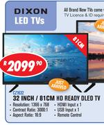 DXN LED TVs 32 Inch / 81cm HD Ready DLED TV