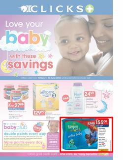 Clicks : Love Your Baby (15 May - 10 June), page 1